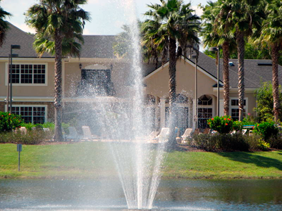 Villagio on the Lakes Fountain